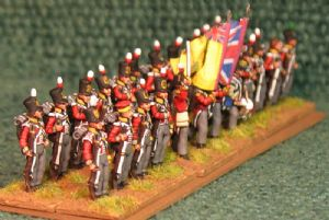 15mm, Napoleonic British Line, Yellow facings, Pre 1812 AB 24 figures